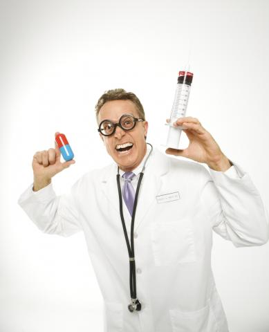 Pic of quack doctor