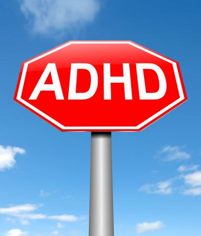 pic of ADHD stop sign