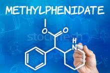 Pic of methylphenidate (Ritalin) chemical